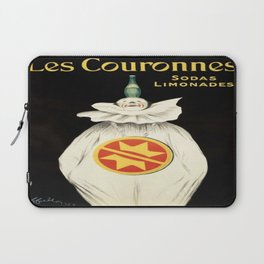 Vintage poster - Les Couronnes Laptop Sleeve