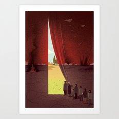 Hope Beyond the War Art Print