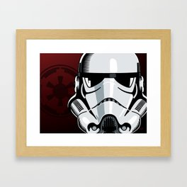Empire Stormtrooper Framed Art Print