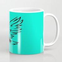 eagle Mugs featuring Eagle  by ArtSchool