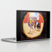 theatre Laptop & iPad Skins featuring Theatre by Vargamari