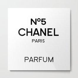 Perfume no5 Metal Print