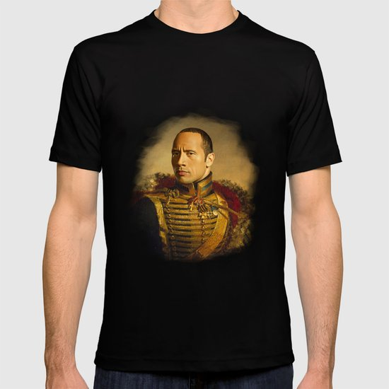 Dwayne (The Rock) Johnson - replaceface T-shirt