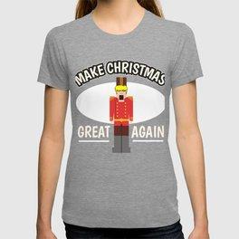 Christmas Anti Trump Nutcracker funny gift T-shirt