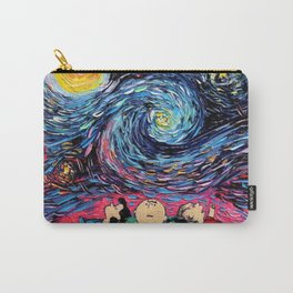 peanuts van gogh snoopy Carry-All Pouch
