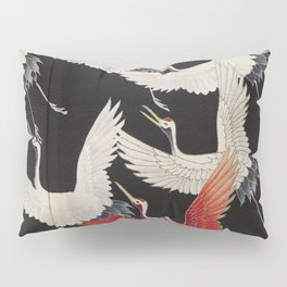 Furisode with a Myriad of Flying Cranes (Japan) Pillow Sham