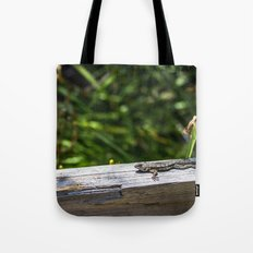 Hide Right Here Tote Bag