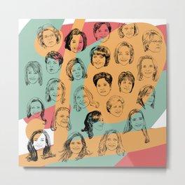 24 Female CEOs Metal Print