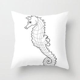 Sea Horsh Throw Pillow