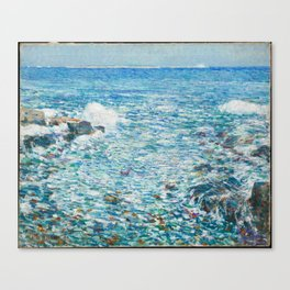 Surf, Isles of Shoals - Childe Hassam Canvas Print