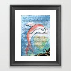 Fish of Far-Sightedness Framed Art Print