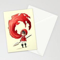 Red Cape Stationery Cards