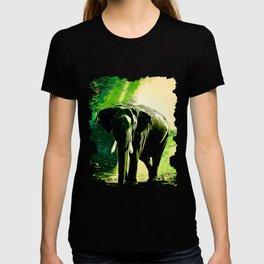 elephant jungle sunray va hg T-shirt