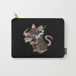 Vaping Rat Illustration | Rattus Vape Vermin Carry-All Pouch