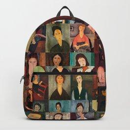 Amadeo Modigliani Montage Backpack