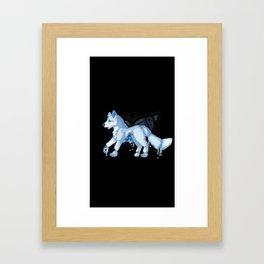 Scaredycat Framed Art Print