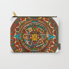 Aztec Mythology Calendar Carry-All Pouch