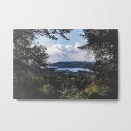 View of Lake Windermere - Landscape and Nature Photography Metal Print