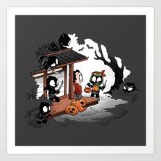 Halloween Decoy Art Print