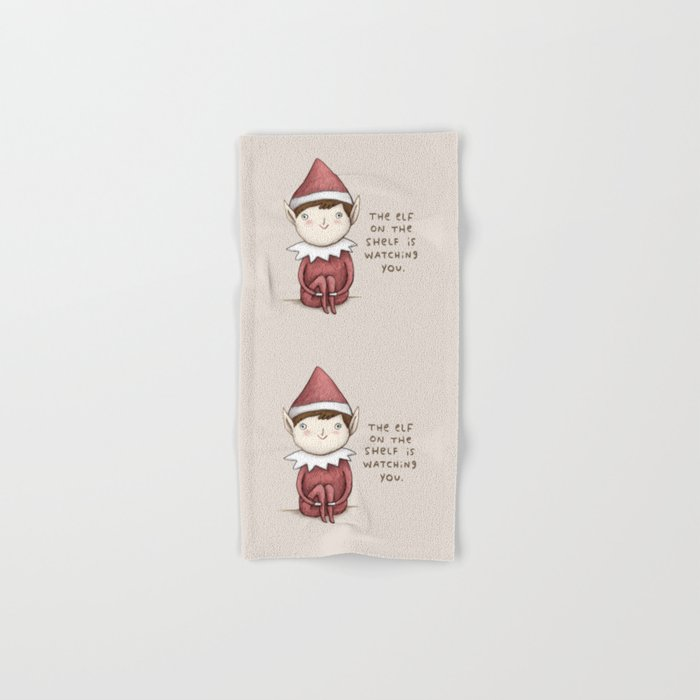 The Elf on The Shelf Hand & Bath Towel