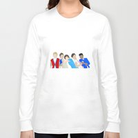 one direction Long Sleeve T-shirts featuring One Direction by Natasha Ramon