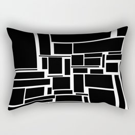 Beds and Pillows in Millennial Modern Rectangular Pillow