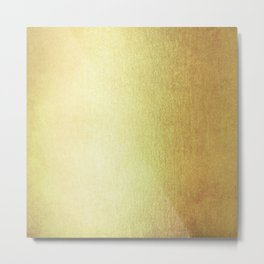 Simply 24K Gold Metal Print