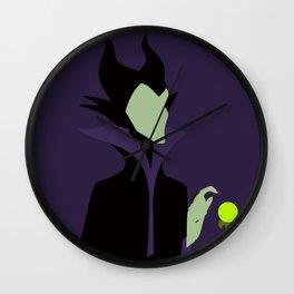 Maleficent Wall Clock