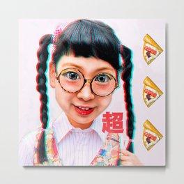 Otaku Girl Metal Print