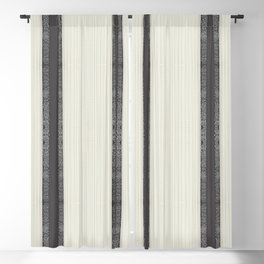 Paris Floral Ribbon Blackout Curtain