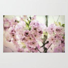 vintage cherry blossom Rug