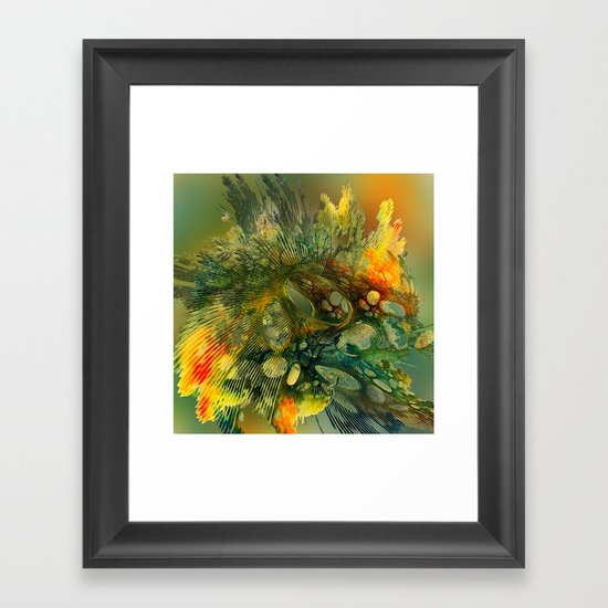 The Flavor of Autumn Framed Art Print
