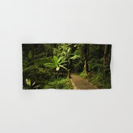 Tropical Forest Path Hand & Bath Towel