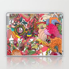 Of the Hare Meadow Laptop & iPad Skin