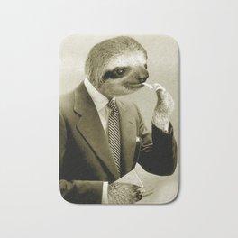 Gentleman Sloth 9# Bath Mat