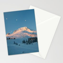 Mt. Hood Sunset Stationery Cards