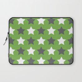 Star Crazy - Green Grey Palette Laptop Sleeve