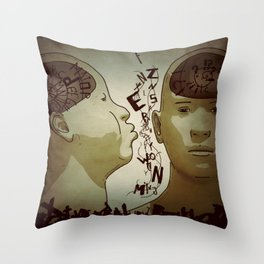 Syntax Throw Pillow