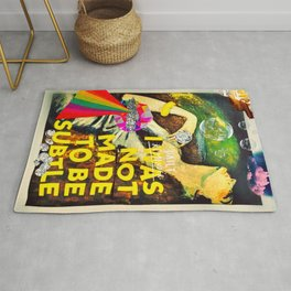 My Life's Mantra Rug