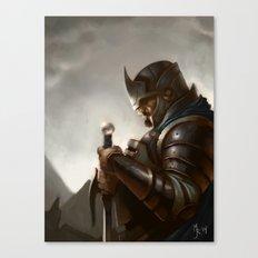 knight Canvas Print