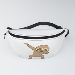 Sloth dab Fanny Pack