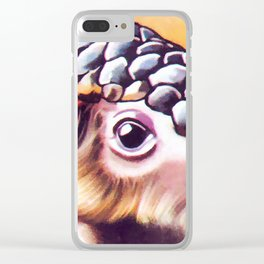 Sunda Pangolin Clear iPhone Case