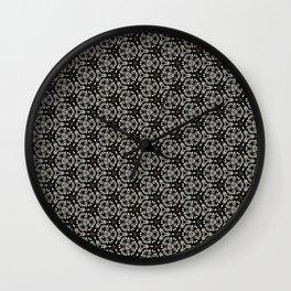 Tiger Paisley Wall Clock