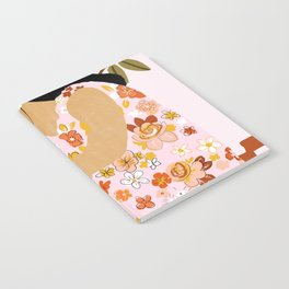 Bohemian Lady Notebook