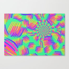 Spring breakers - geometric color Canvas Print