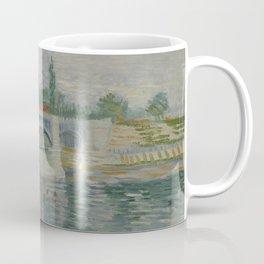 The Bridge at Courbevoie Coffee Mug