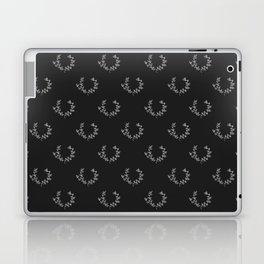 Simple Wreath Pattern Dark Laptop & iPad Skin