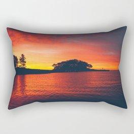 New England Sunrise Rectangular Pillow
