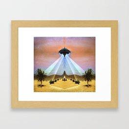 Astral Messenger Framed Art Print