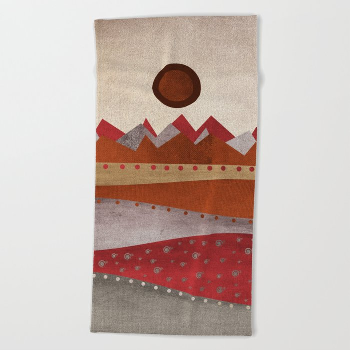 Textures/Abstract 135 Beach Towel
